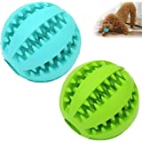 Sunglow Dog Toy Ball, Nontoxic Bite Resistant Toy Ball for Pet Dogs Puppy Cat, Dog Pet Food Treat Feeder Chew Tooth…