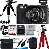 PowerShot G7 X Mark III 20.1-Megapixel Digital Camera - Black - Premium Accessories Bundle - International Version (No Warran