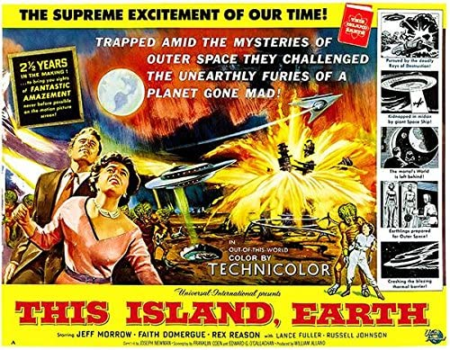 Amazon.com: This Island, Earth - 1955 - Movie Poster: Posters & Prints