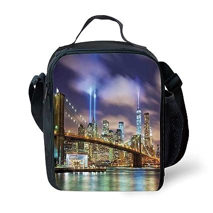 Amazon.com: IPrint School Supplies Landscape, Manhattan ...
