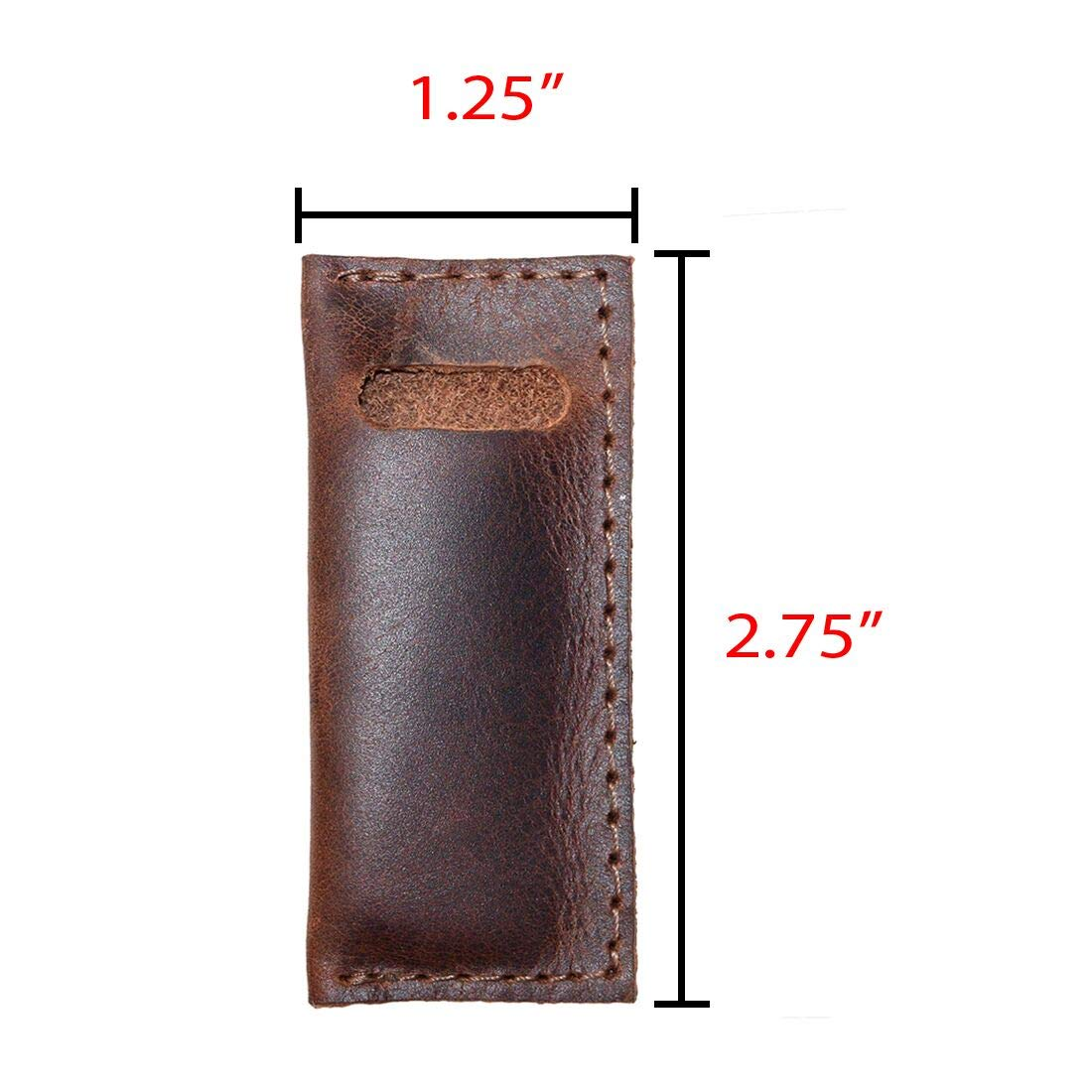 // Restaurant /& Cafe Supplies//Household Accessories Leather Tooth Pick Case Handmade Includes 101 Year Warranty :: Bourbon Brown 4 Pack Hide /& Drink