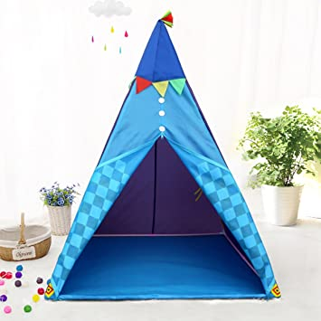 Indian Teepee Kids Tent w/Floor - Children Indoor Teepee Play Tent w/ LED  sc 1 st  Amazon.com & Amazon.com: Indian Teepee Kids Tent w/Floor - Children Indoor ...