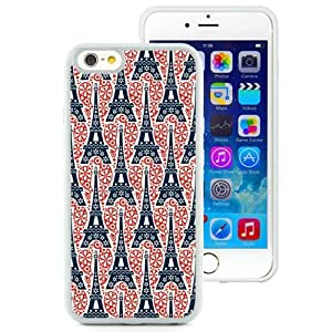 Eiffel Tower Pattern (2) Durable High Quality iPhone 6 4.7 Inch TPU Phone Case