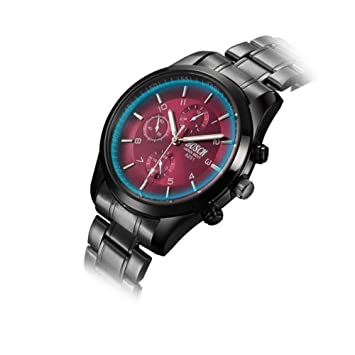 BLUEUK 2015 Hombres Relojes Casual Marca Full Acero Reloj de Pulsera Cuarzo Hombre Reloj Relogio Reloj