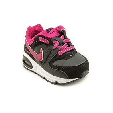 NIKE Air Max Command (TD) Infant Baby Girls Black Sneakers Shoes Size 739ce069b