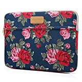 CoolBell 13.3 Inch Laptop Sleeve Case Cover With Peony Flower Pattern Ultrabook Sleeve Bag For Ultrabook like Macbook Pro/Macbook Air/Acer/Asus/Dell/Lenovo/Women/Men