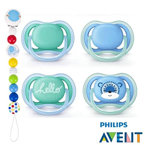 Philips AVENT Ultra Soft Air Chupete 6 - 18 Snow Bear de ...