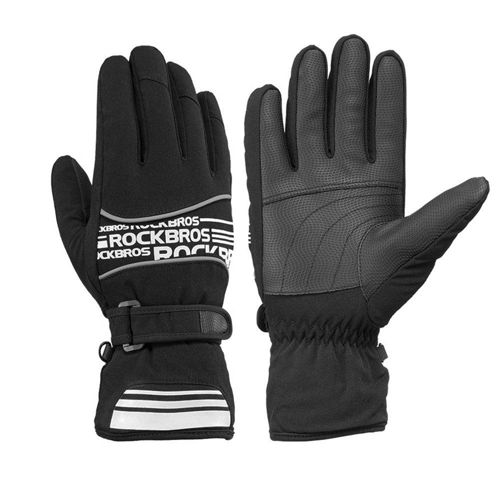 RockBros ACCESSORY メンズ B076LPPXC9 L ブラック ブラック L