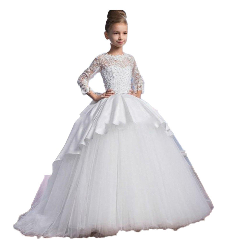 Tianshikeer Tianshikeer Hochzeitskleid Kinder Blumenmädchen Kleid ...