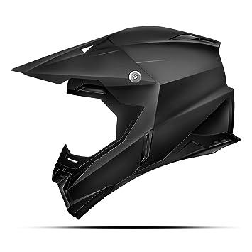 Zoan Synchrony - Casco de moto, color negro mate, talla pequeña