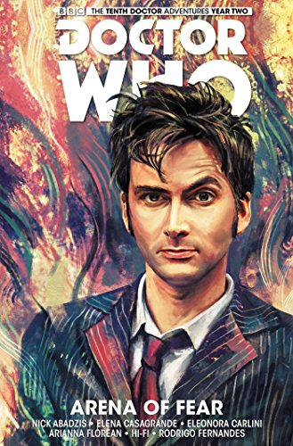 Doctor Who The Tenth Doctor Volume 5 - Arena of Fear [Abadzis, Nick] (Tapa Dura)