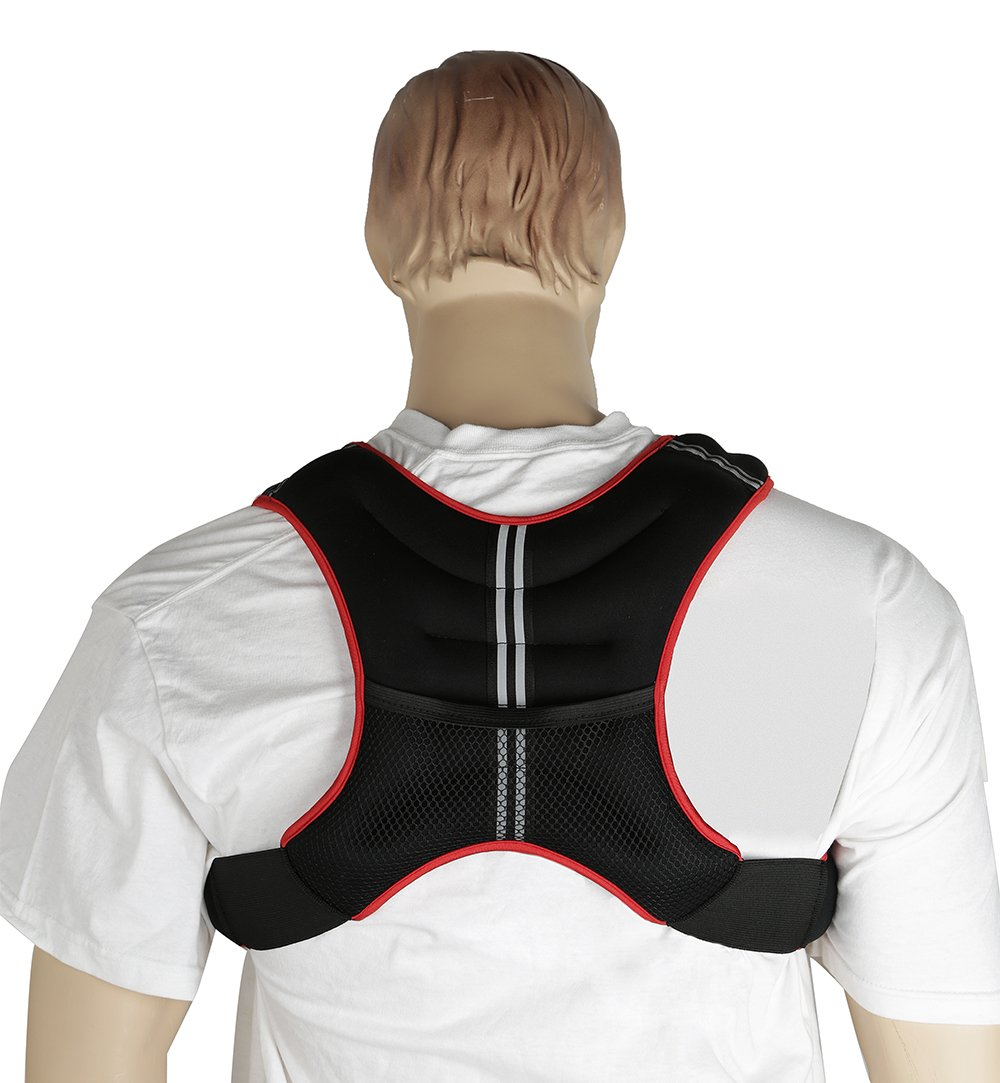 Gymenist Weight Vest With Adjustable Straps - One Size Fits All
