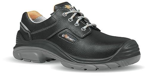 U POWER Zapato Seguridad Piel Grano Mina hidrófugo Falcon S3 Size: 35