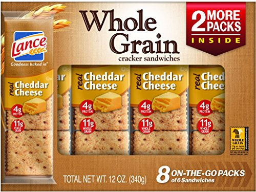 Lance Cracker Sandwiches Cheddar Cheese