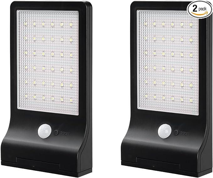 2 X 20 LED MOTION SENSOR CARAVAN SOLAR LIGHT /& 4 RAIL STOPS NEW IMPROVED SPEC