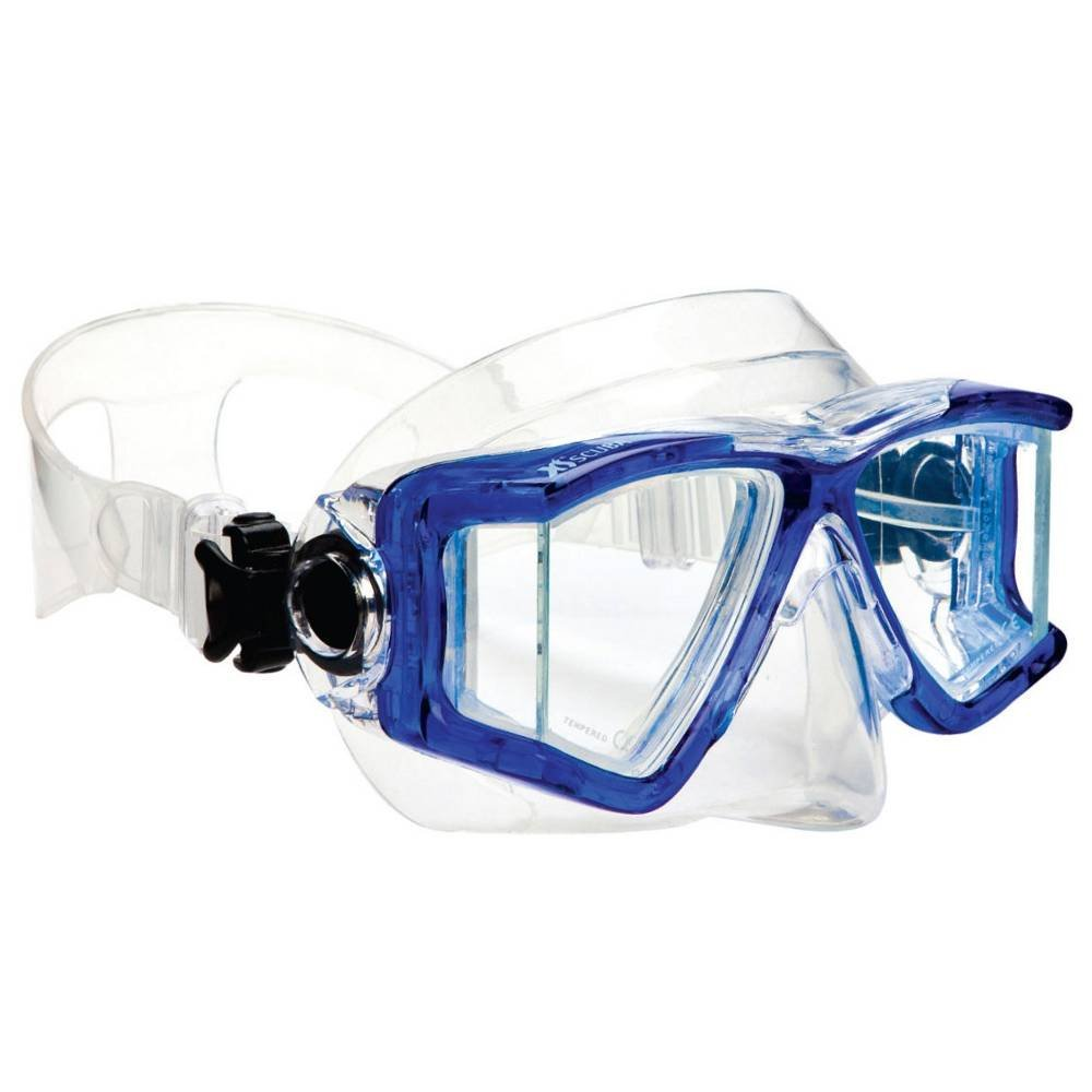 XS Scuba Fusion 2 Jr Dive Mask - Blue by XS Scuba