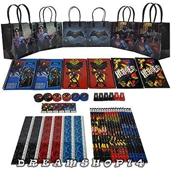 Batman VS Superman Goody Bag Party Favor w/Stationery (54pc)FV by Dreamshop14