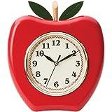 Brookwood Apple Shaped Wall Clock