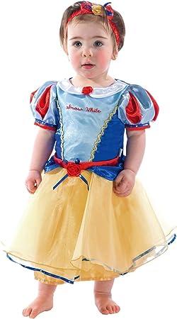 Disney Princesas Princesa de la Nieve Disfraz bebé, Multicolor, 12 ...