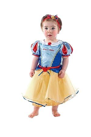 ed0890a8ecf69b Disney Déguisement de Princesse Blanche-Neige pour bébé (12-18 Mois ...