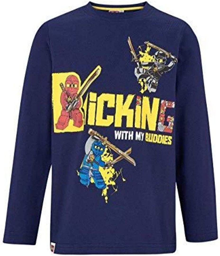 LEGO Ninjago Boys Long Sleeve T-Shirt