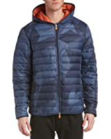 Save The Duck Mens Marc Puffer Jacket, Blue