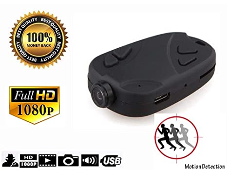 9ddc2a4de Image Unavailable. Image not available for. Color  Keychain Camera 808 1080P  Motion Activated Portable DV Sport ...