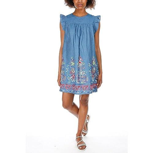 By Swan –  Vestito  – Donna blu Large