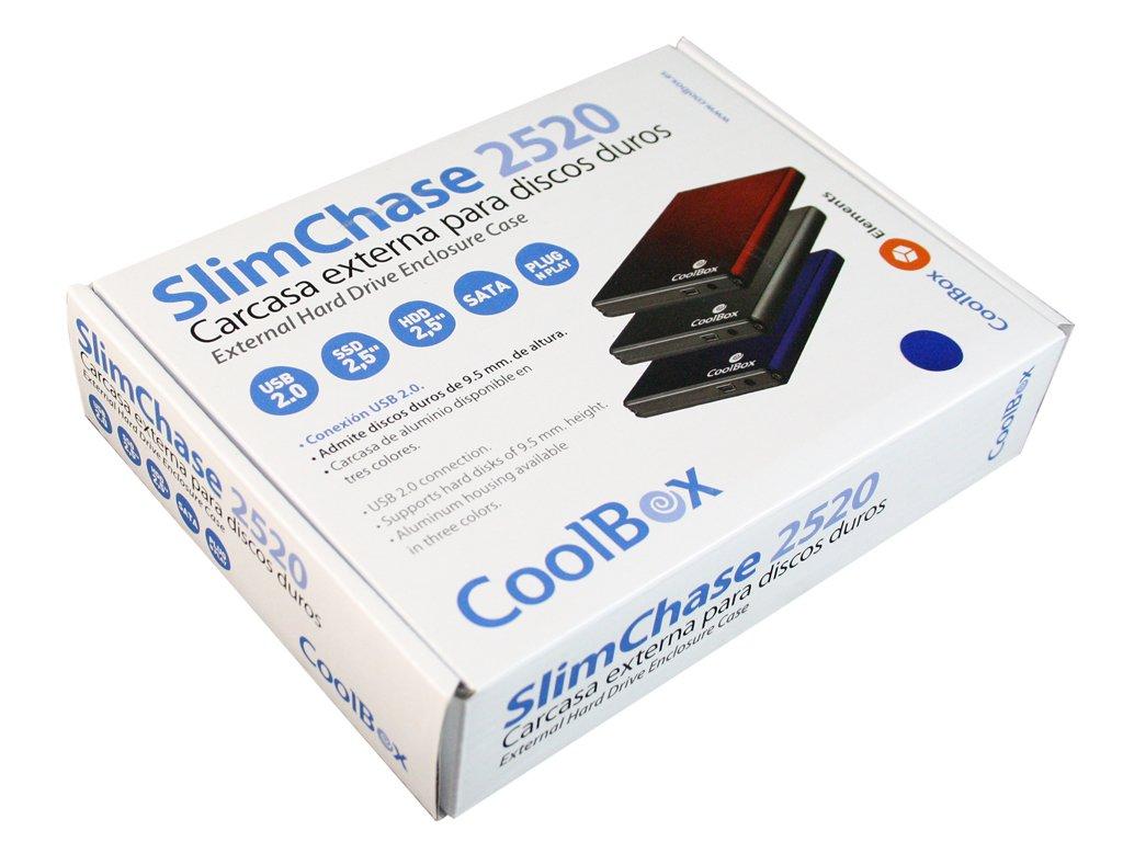 CoolBox Carcasa externa para discos duros de 2.5