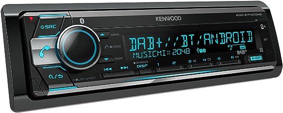 Kenwood Kdc X710 Tuner Digital Gate Adio With Bluetooth Hands Free Car Kit And Apple Ipod Control Black Navigation Car Hifi