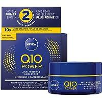 NIVEA Q10 POWER Anti-wrinkle + Firming Night Face Moisturizer 50 mL, Deep Moisturizing Night Cream, Anti-Aging Cream…