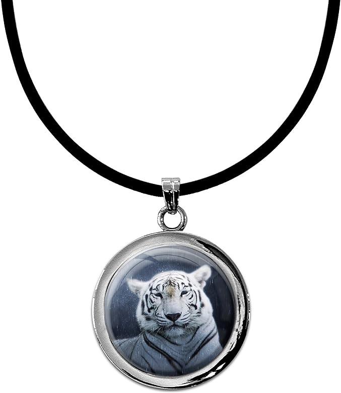 Collar Colgante joyería níquel-Libre/Tigre/Depredadores/Gatos ...
