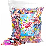 Assorted Candy Party Mix, 5 LB Bulk Bag: Fire Balls, Airheads, Jawbusters, Laffy Taffys, Tootsie Rolls and Much More of Your Favorite Candy!