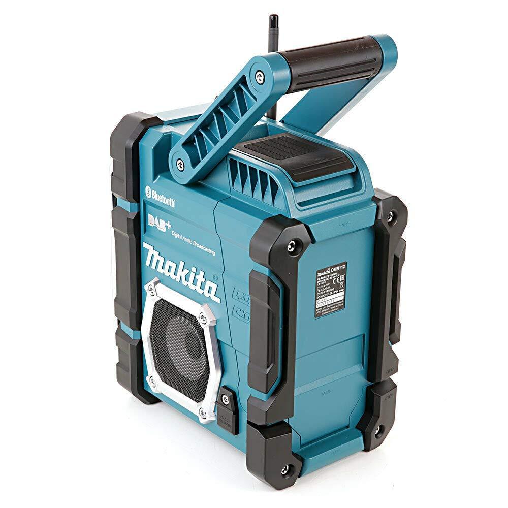 Bluetooth USB Charger 18v Battery Makita DMR112 Digital DAB Site Radio DAB