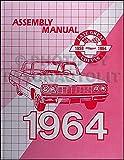 1964 Chevrolet Assembly Manual Reprint Impala Biscayne Bel Air etc.