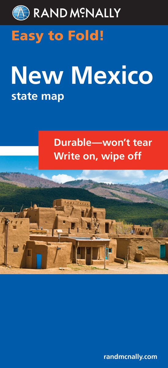 Download Easy To Fold: New Mexico (Rand McNally Easy to Fold!) PDF