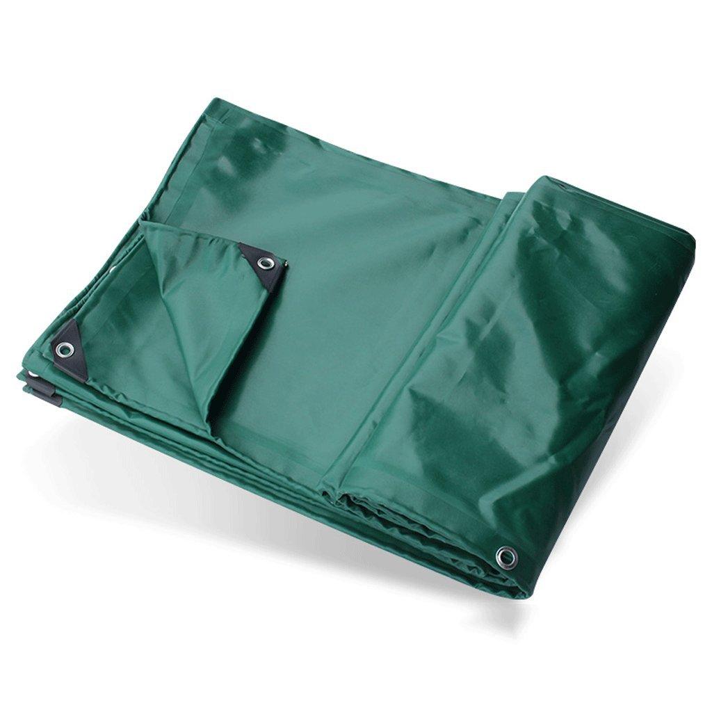 タープ 厚い防水布防水日焼け止め断熱腐食雨天ターポリン車の保護シートPVCコーティング布緑の防水シート0.6ミリメートル重量:650グラム/m² アウトドア (サイズ さいず : 4X5M) 4X5M  B07H78685S