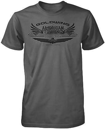 Amazon Honda Mens Goldwing Tour Collection Short Sleeve T Shirt Clothing