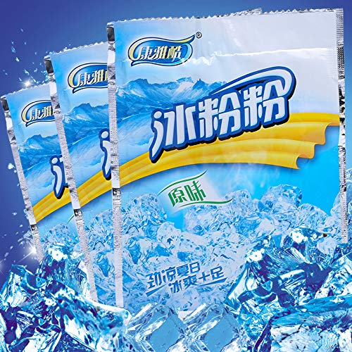 康雅酷冰冰粉粉商家家用原味40克100包整箱整件批发夏季配料小吃