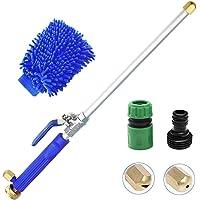JoyCube Pistola limpiadora de alta presión para coches, Pistola de agua de riego de manguera de jardín portátil, 5…
