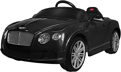 12V Electric Bentley Continental GT Kids Ride On Toy Cars RC /& Manual Mode White