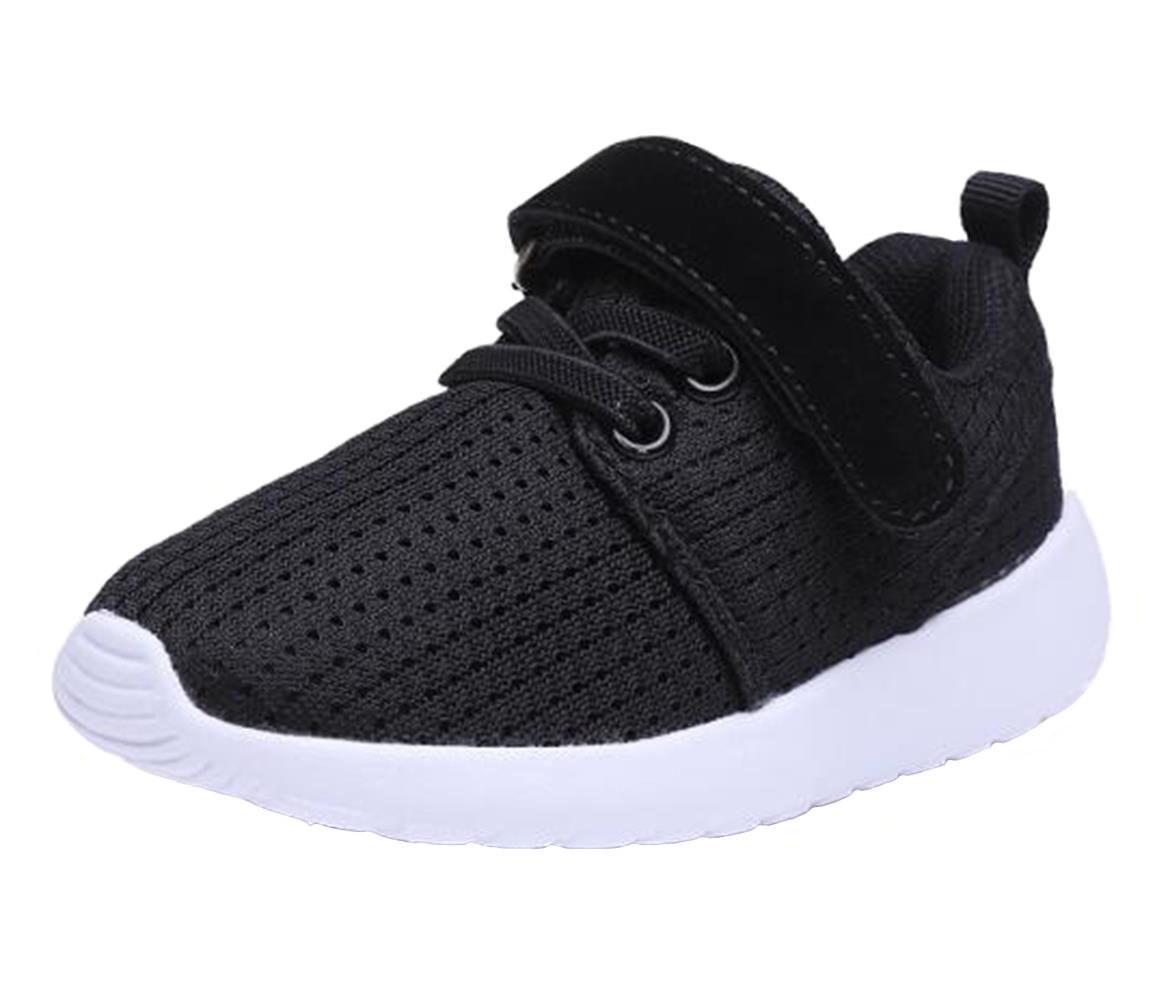 WUIWUIYU Boys Girls Fashion Sneakers Lightweight Athletic Outdoor Sport Training Walking Running Shoes