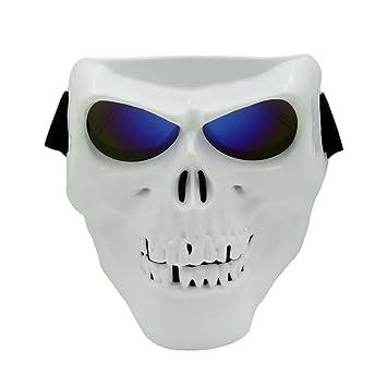 Vhccirt Motorcycle Racing Protección Máscara con gafas polarizadas gafas de esquí máscara de Halloween cos máscara