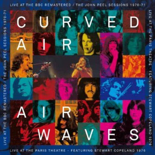 Curved Air - Airwaves - Live At The Bbc/ Live At The Paris Theater (CD)