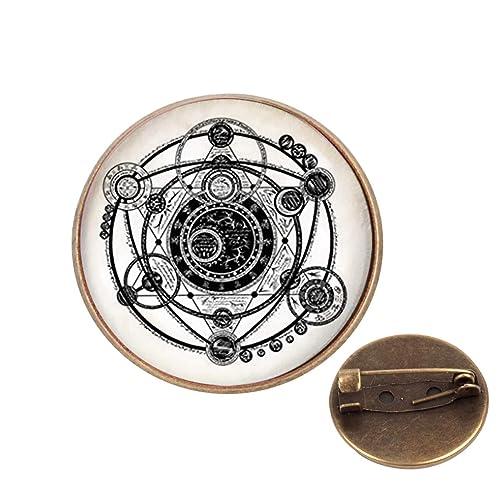 Amazon com: Pinback Buttons Badges Pins Magic Witchcraft Lapel Pin