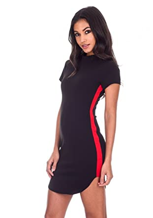 fbceeb65d91 AX Paris Women s Mini Dress with Panel Detail at Amazon Women s ...