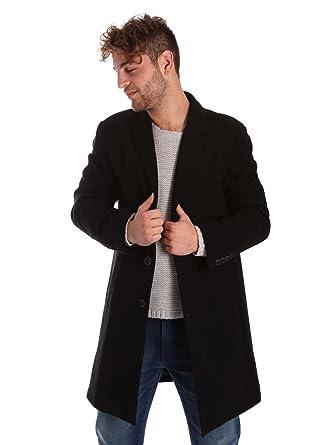 Gaudi jeans 721BU35030 Chaquetas Hombre Negro 54: Amazon.es ...