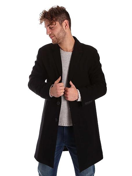 size 40 c7d65 4ee6d Gaudi jeans 721BU35030 Cappotto Uomo Nero 54: Amazon.it ...