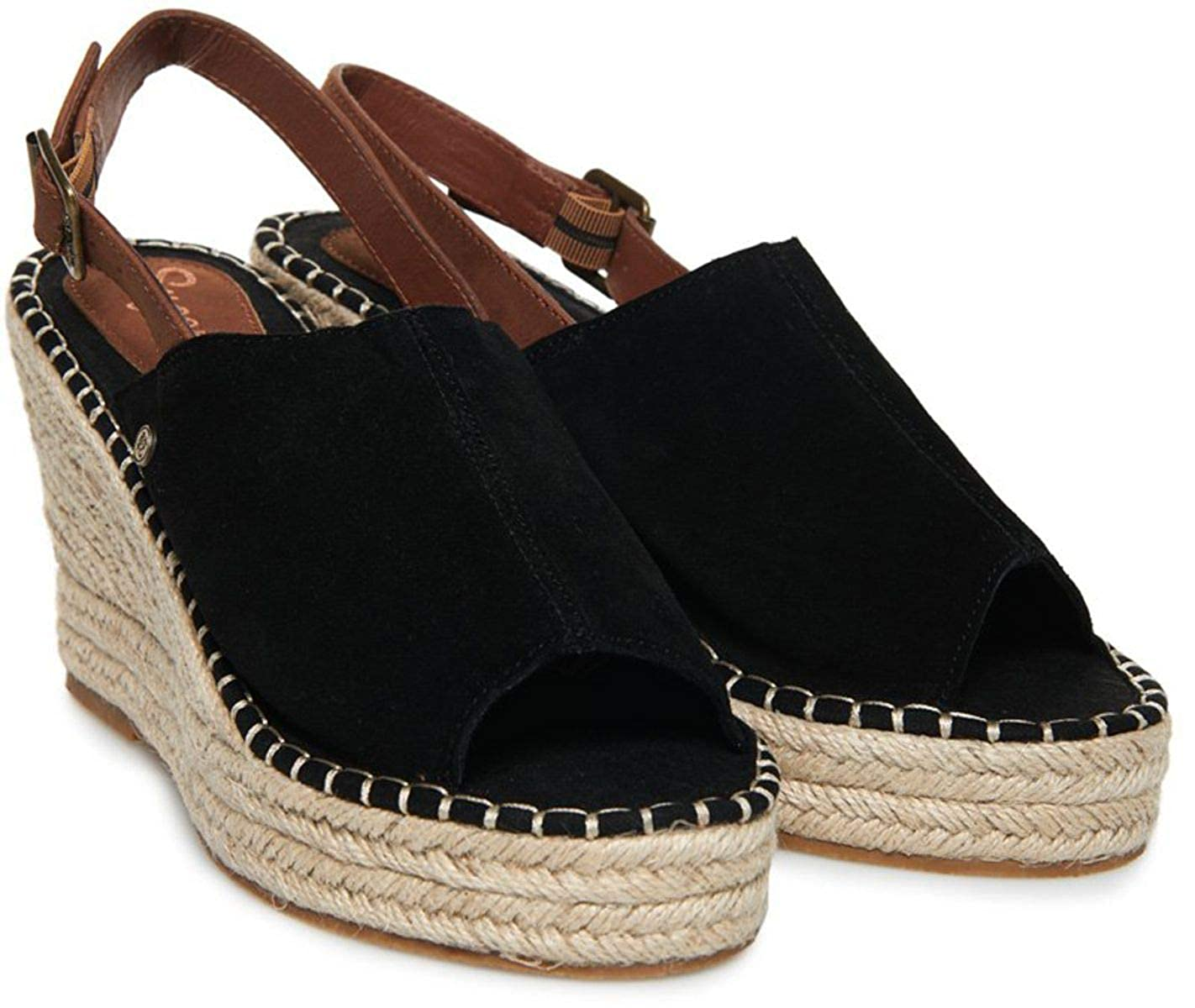 Superdry Grace Wedge Espadrilles Shoes