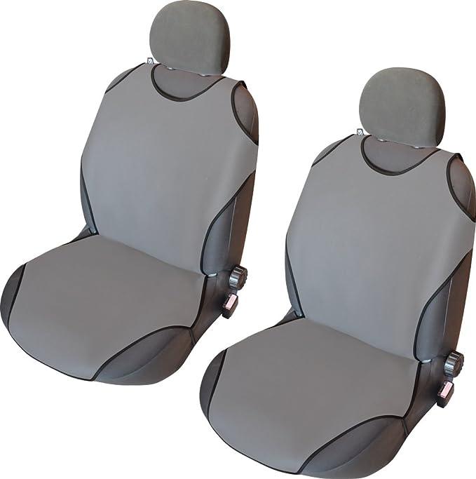 Grauer Velours Sitzbezüge für TOYOTA YARIS  Autositzbezug VORNE